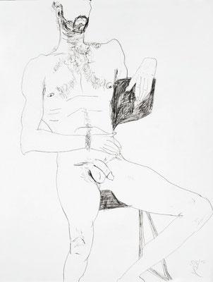 O.T., 2010, Bleistift auf Papier