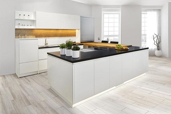 Fotografie großer Produkte wie Küchen und Möbel
