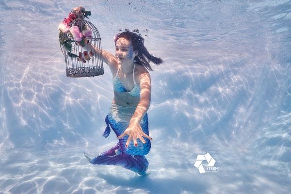 Siren Underwater Art