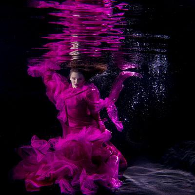 Modefotografie Unterwasser Thüringen