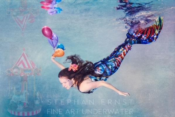 Meerjungfrauenschwimmen und Kurse mit Fortoshooting