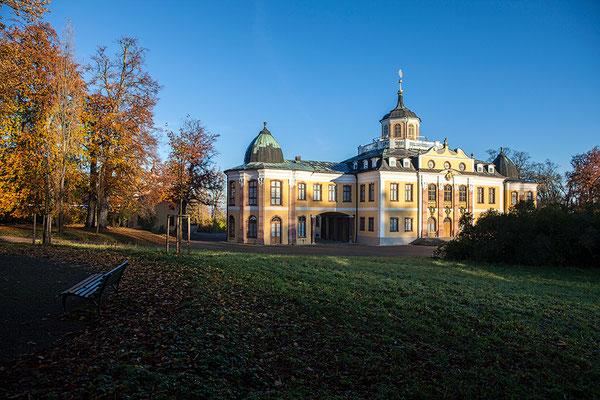Rückseite vom Schloss Belvedere