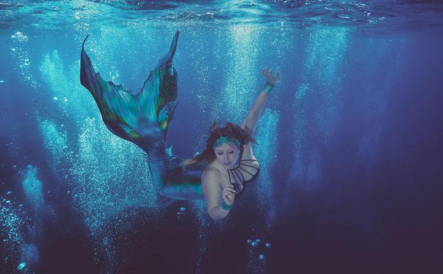 Mermaidschwimmen Freiwasser