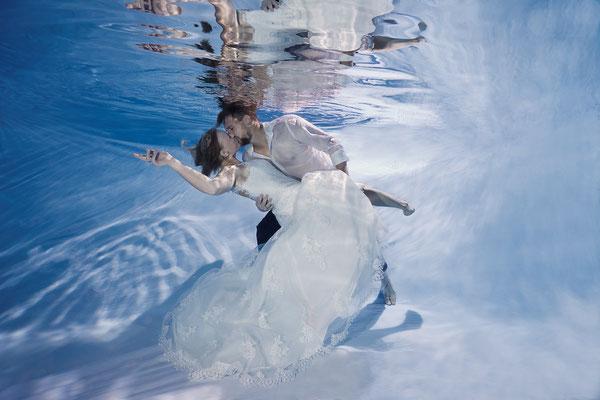 Unterwasserfotografie Stephan Ernst Hochzeit Weimar