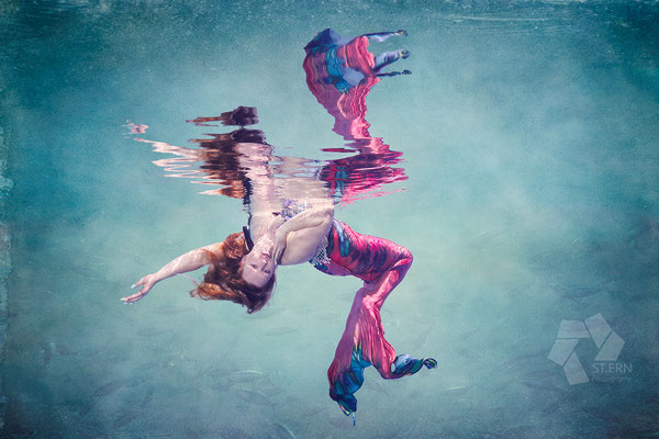 Surreale Unterwasserkunst