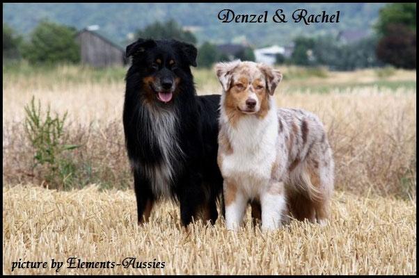 Denzel & Rachel, die Eltern