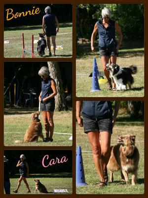 Susan mit Bonnie & Cara