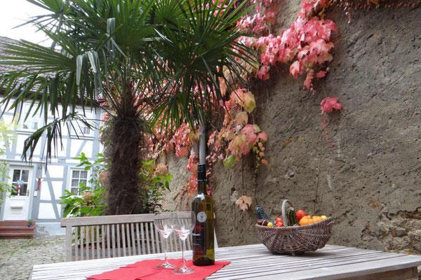 Genießen Sie die Weinzeit in Heppenheim Region Bergstraße.