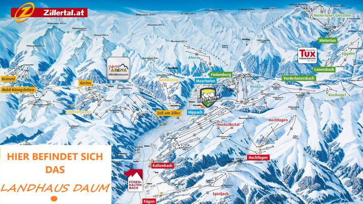 Im Zillertal alle Skigebiete