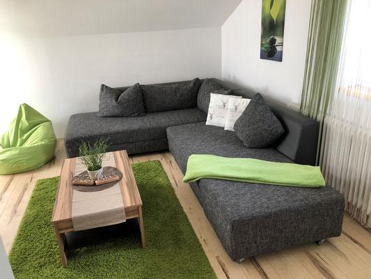 Appartement Ahorn Wohnzimmer