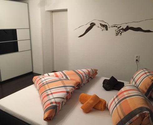Schlafzimmer vorne