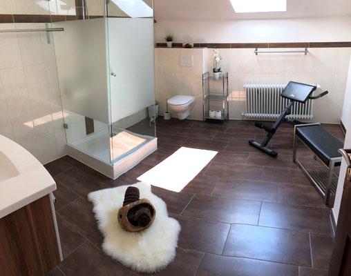 Appartement Ahorn Badezimmer