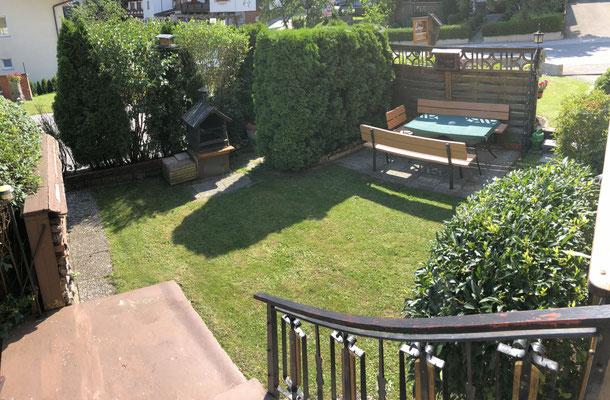 Grillmöglichkeit im Garten