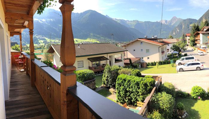 Balkon Appartement Penken