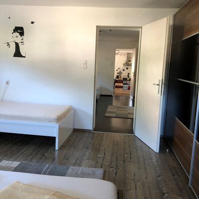 Appartement Kristall Schlafzimmer