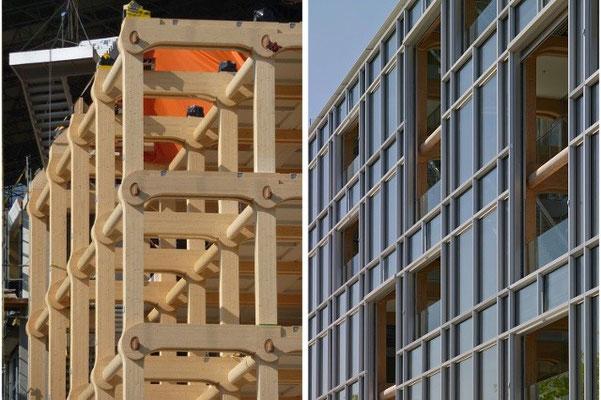 「タイメディア本社ビル」(引用)SWIウェブサイトより(http://www.swissinfo.ch/jpn/坂茂の木造7階建てビル-チューリヒに誕生/36226708)