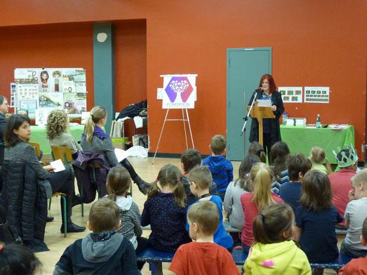 54 enfants de l'école Antoine -Hallé reçoivent le programme depuis le début octobre dernier.