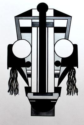 Série WATARU-42cm x 29,7 - 2019