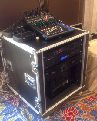 Audio equipment system rack of Earthsound'