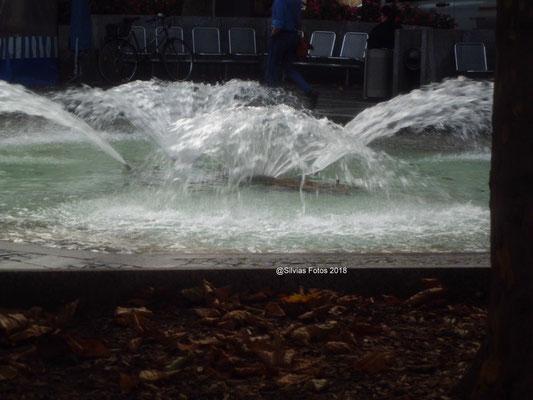 Wasserspiel/Aufnahme unterwegs 2018
