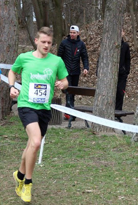 Felix Luckner ist die letzten Jahre der zweitstärkste Läufer der LG, hier zu sehen bei den DM-Cross 2019 in Ingolstadt.