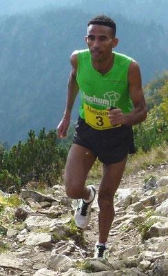 2015 am Hochfelln: Yossief Tekle dominiert die deutsche Berglaufszene.