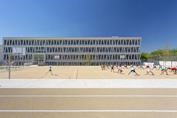 Foto de la pista exterior del Colegio Alemán de Madrid