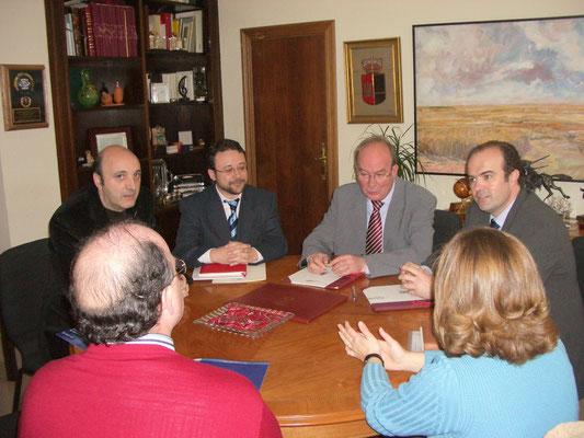 Visita Alcalde de Albacete