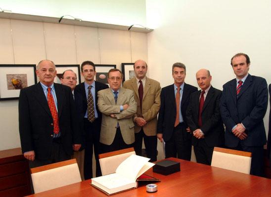 Junta Gobierno Albacete y Presidente Consejo General