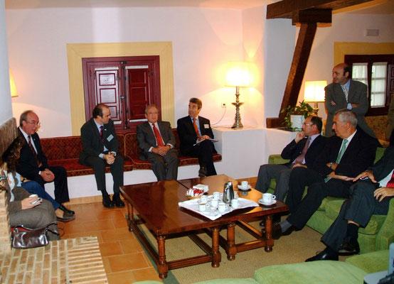Jornada Jueces-Colegio, visita Pascual Sala Presidente Tribunal Constitucional