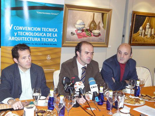 Rueda de prensa de Contart 2009