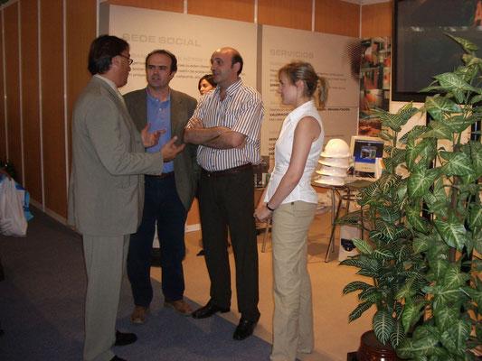 Visita a Stand Colegio del Consejero de Vivienda