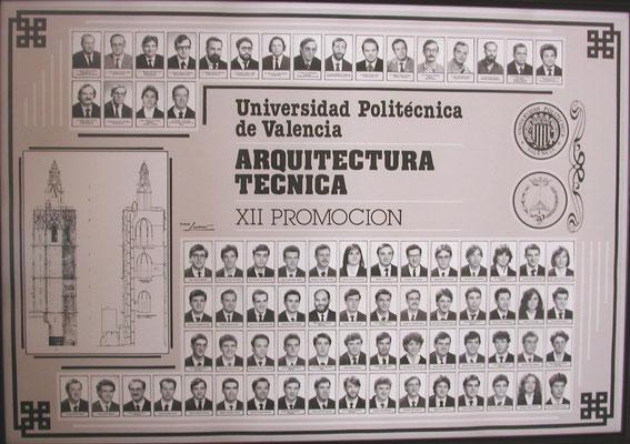 Orla Arquitecto Técnico - Año 1986