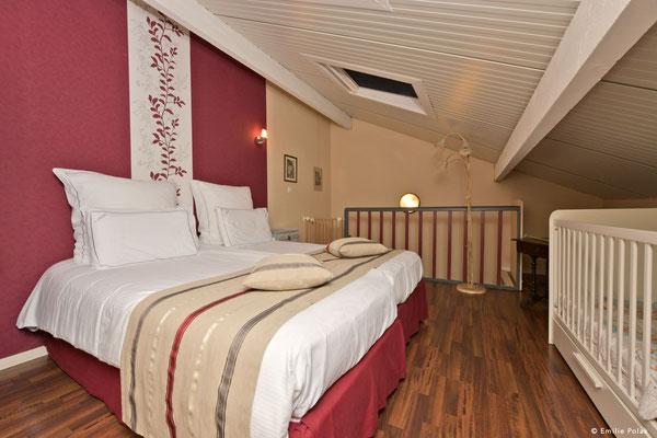 Chambre 2 Suite Charme- La Filature - St Quentin