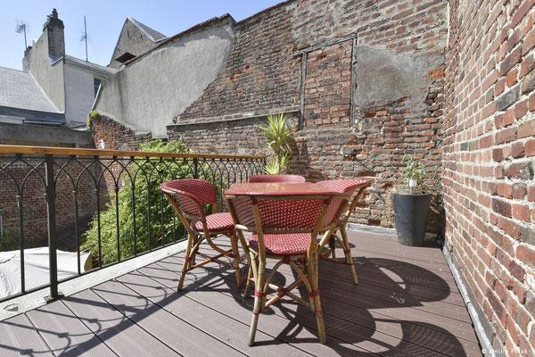 Terrasse Suite Charme- La Filature - St Quentin