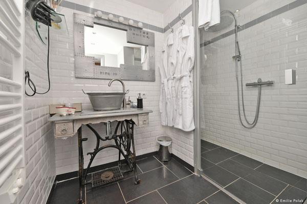 Salle de bain Suite Industrie - La Filature - St Quentin