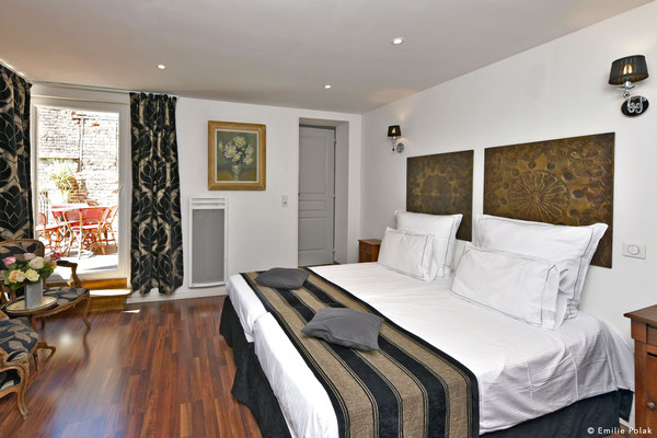 Chambre 1 Suite Charme- La Filature - St Quentin