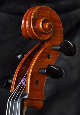 Celloschnecke aus Buche - Violworks