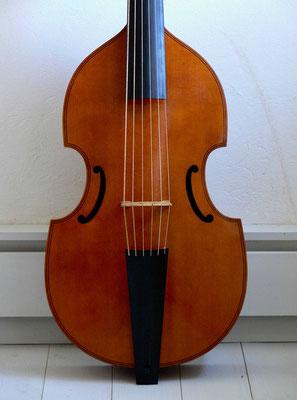 Kopie einer Edward Lewis Bassgambe, Vorderansicht - Violworks