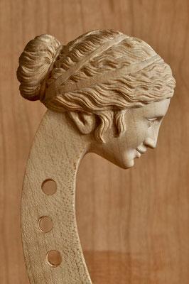 Kopf für eine Viola d'amore - Violworks