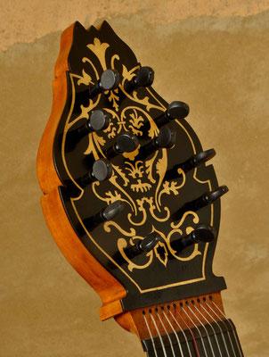 Wirbelbrett in Anlehnung an ein original erhaltenes in Leipzig - Violworks