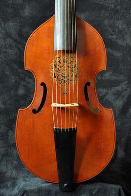Korpus mit Ornament auf der Decke - Violworks