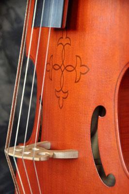 Ornament auf der Decke nach Kundenwunsch - Violworks