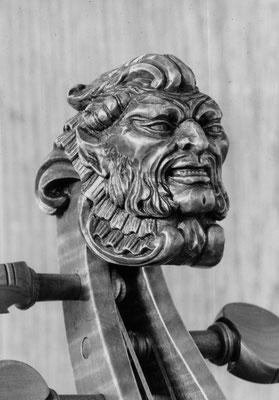 Faun nach einem Kopf von einem 5 saitigen Cello - Violworks