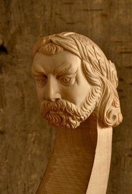 Kopf angelehnt an Richard Blunt - Violworks