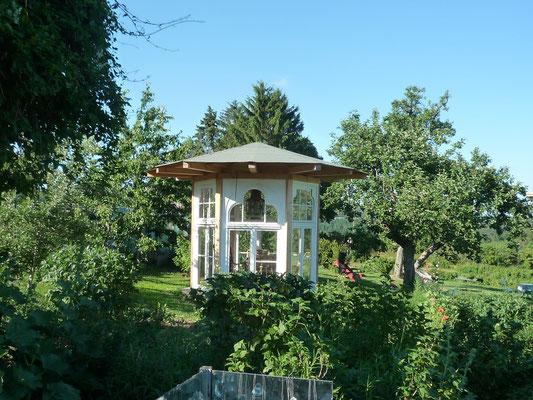 Gartenpavillion Upcycling Design