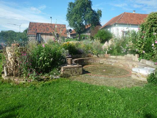 Gartengestaltung Amphitheater