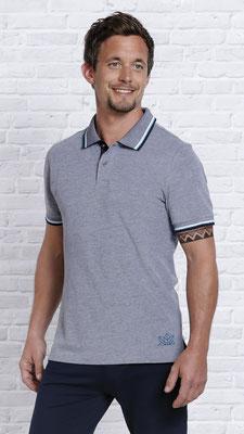Poloshirt mit Turmalin