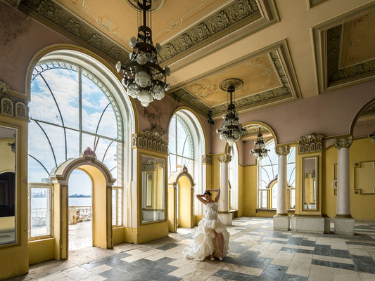 My enchanting palace (Casino Constanta)