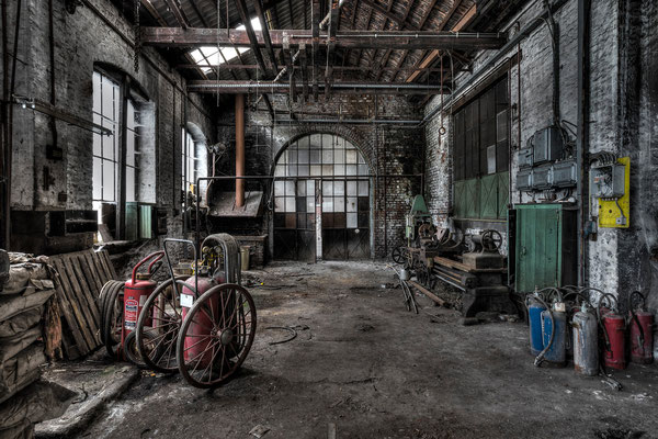 Abandoned workshop